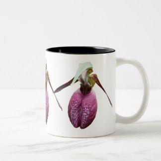 Wild Lady Slipper Flower Photo Coffee Mug
