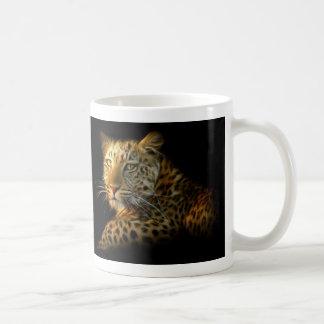 Wild Leopard Basic White Mug
