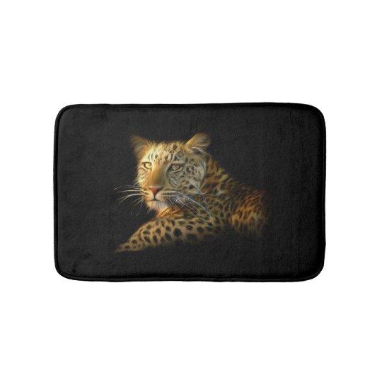 Wild Leopard Bath Mats