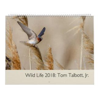 Wild Life 2018 Wall Calendars