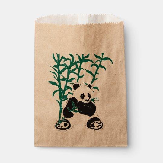 WILD LIFE BEAR  CARTOON  bag Kraft Favour