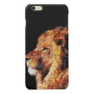 Wild lion - lion collage - lion mosaic - lion wild