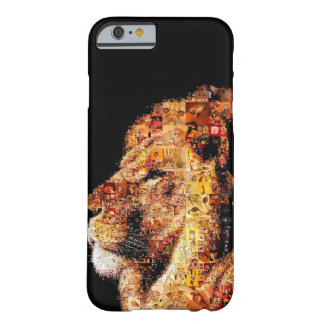 Wild lion - lion collage - lion mosaic - lion wild barely there iPhone 6 case