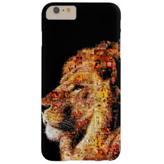 Wild lion - lion collage - lion mosaic - lion wild barely there iPhone 6 plus case
