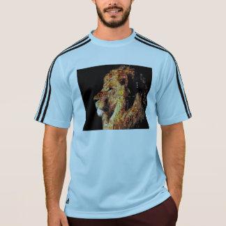 Wild lion - lion collage - lion mosaic - lion wild T-Shirt