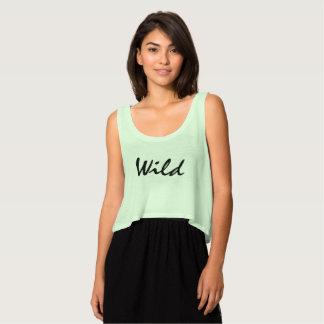 """Wild"" Mint Green Crop Top"