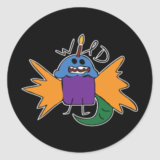 Wild Muffin - Sticker