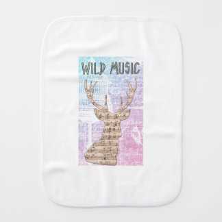 WILD MUSIC BURP CLOTH