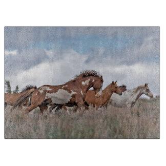 Wild Mustang Cutting Board