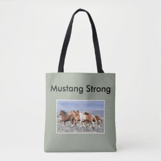 Wild Mustang Tote