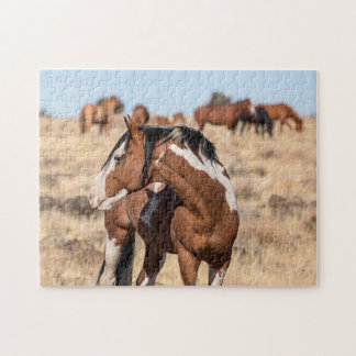 Wild Mustangs Jigsaw Puzzle