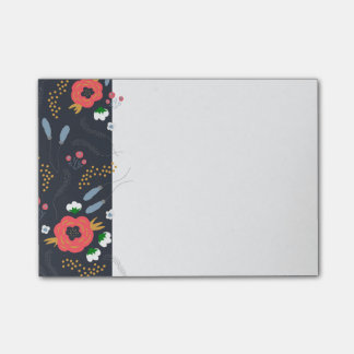 Wild Navy Post-Its Post-it Notes