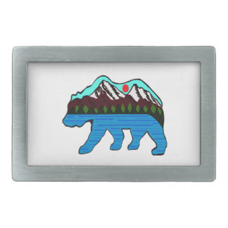 WILD OF NATURE BELT BUCKLE