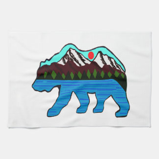 WILD OF NATURE HAND TOWELS
