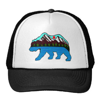 WILD OF NATURE TRUCKER HAT