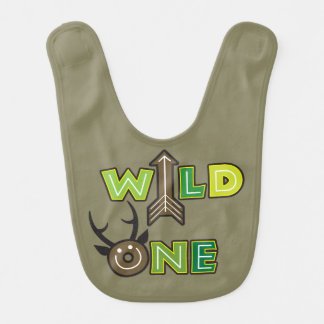 Wild One Baby Bib Design