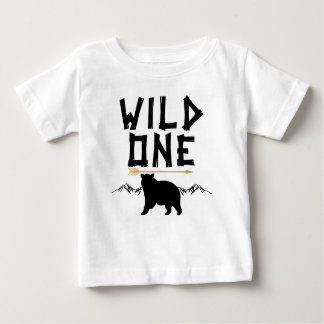 Wild One Bear Arrow 1st Birthday Shirt