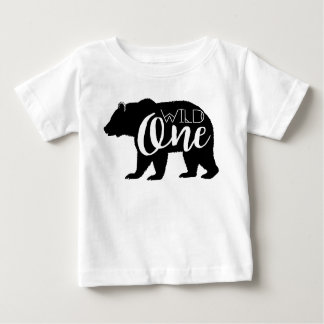 Wild One Bear | First Birthday Party Baby T-Shirt