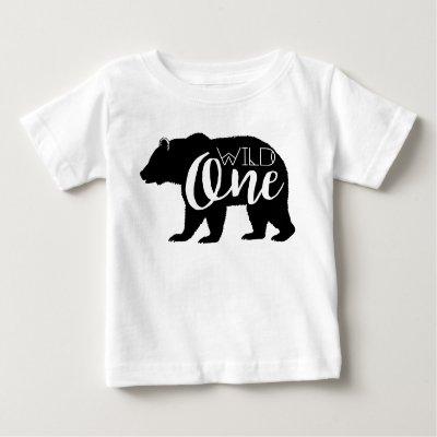 Lumberjack First Birthday T Shirt