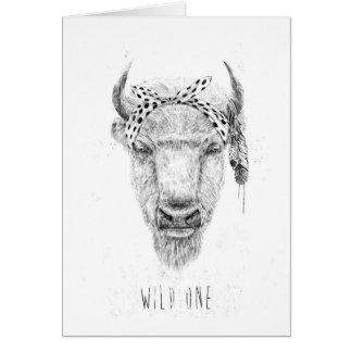 Wild one card