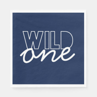 Wild One First Birthday Napkins Paper Napkin