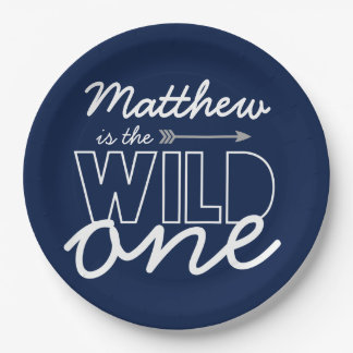 Wild One First Birthday Party Paper Plates