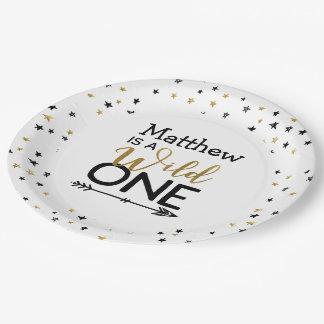 Wild One Paper Plates