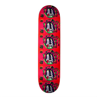 wild one wolf skateboard deck