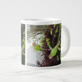 Wild Parrots of Telegraph Hill Large Coffee Mug