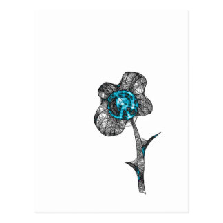 Wild Peace Flower Postcard