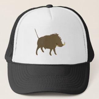 Wild pig wildly boar trucker hat