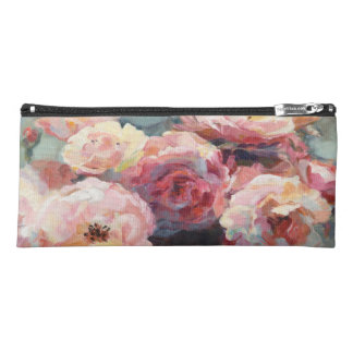 Wild Pink Roses Pencil Case
