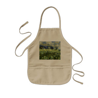 Wild plant growth under the sky kids apron