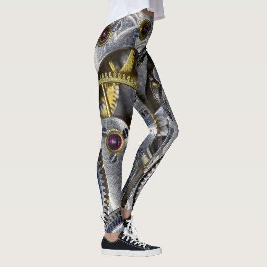 Wild Pocket Watch Face Fashion Leggings
