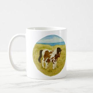 Wild Ponies Watercolor 11oz Mug