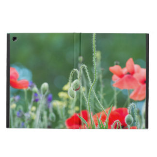 Wild poppies iPad air case