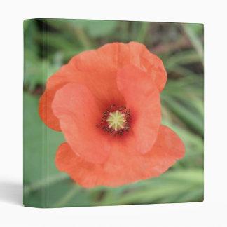 Wild Poppy Flower Photograph Album Vinyl Binder