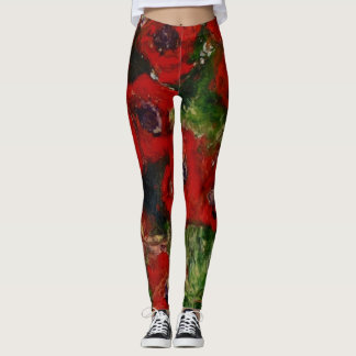 Wild Poppy Leggings