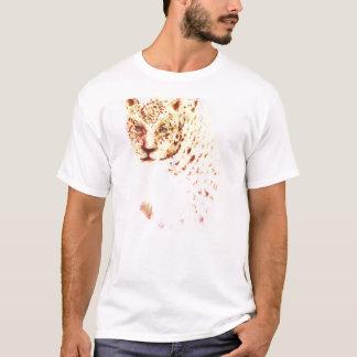 Wild Powerful Fierce Cheetah Drawing T-Shirt