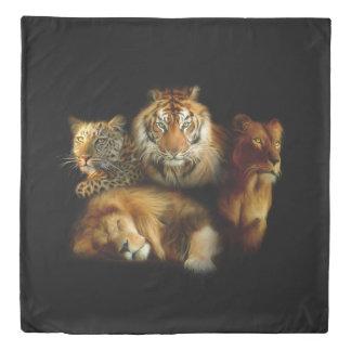 Wild Predators (2 sides) Queen Duvet Cover