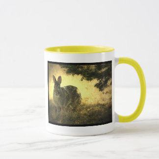 Wild Rabbits Ceramic Coffee Mug