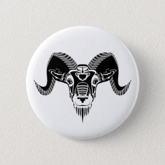 wild ram 2 inch round button