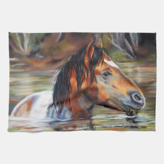 Wild River Horse Kitchen Towel