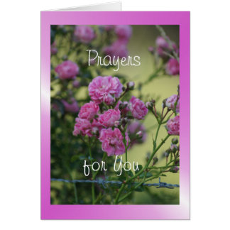 Wild Rose 7944 flvw - customize any occasion Card