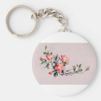 Wild Rose Keychain