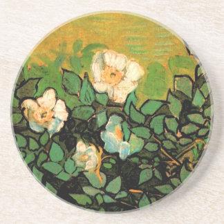 Wild Roses (F597) Van Gogh Fine Art Coaster