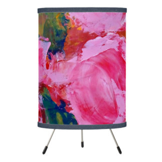 Wild Roses Lampshade with table lamp
