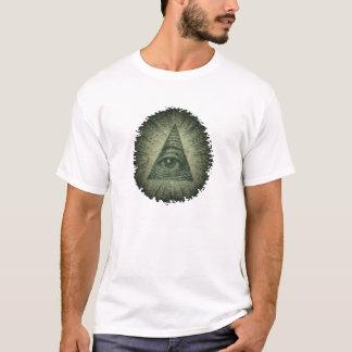 Wild Run/All-Seeing-Eye Men's White T-Shirt