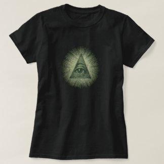 Wild Run/All-Seeing-Eye Women's Dark T-Shirt