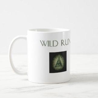"Wild Run ""Simple Roll of the Dice"" 11 oz White Mug"
